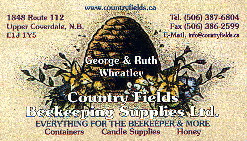 Country Fields Beekeeping Supplies